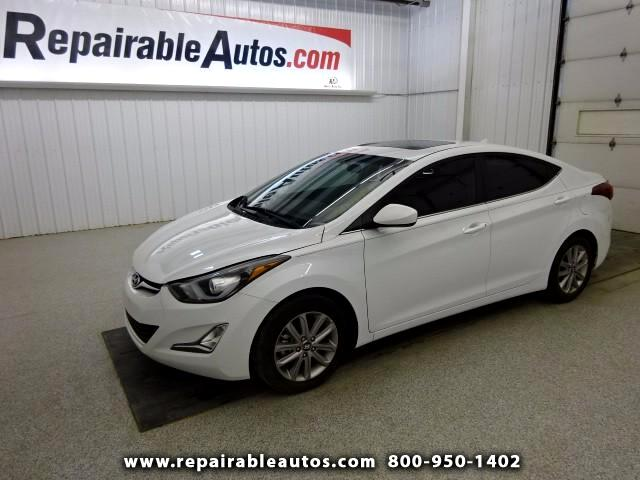 2015 Hyundai Elantra Repairable Water Damage