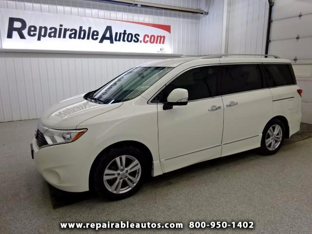 2015 Nissan Quest SL Repairable Water Damage