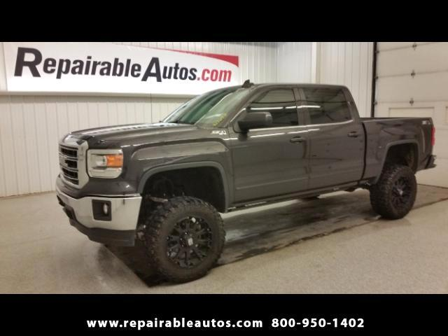 2015 GMC Sierra 1500 Z71 Crew Cab 4WD Repairable Water Damage