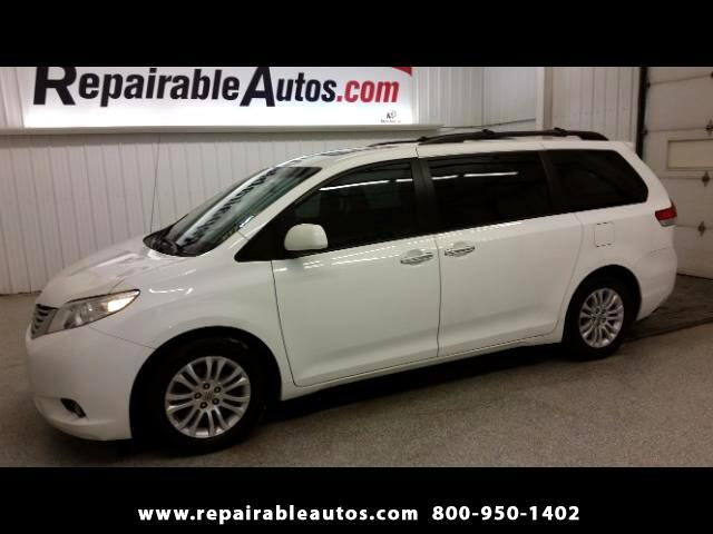 2013 Toyota Sienna XLE FWD Repairable Water Damage