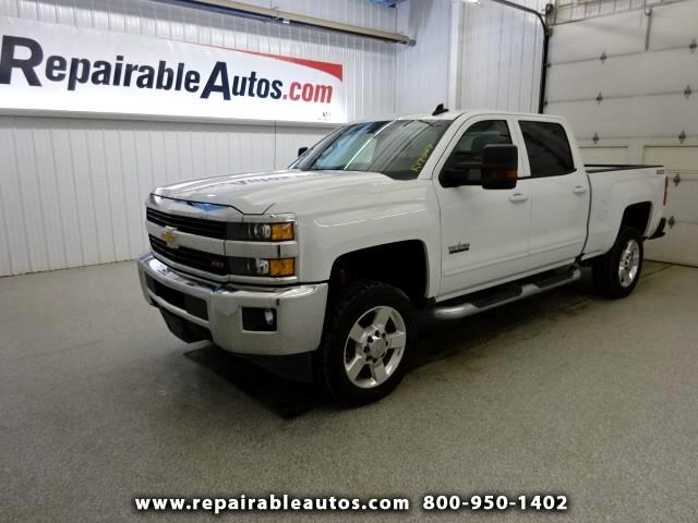 2016 Chevrolet Silverado 2500HD Texas Edition 4WD Repairable Water Damage