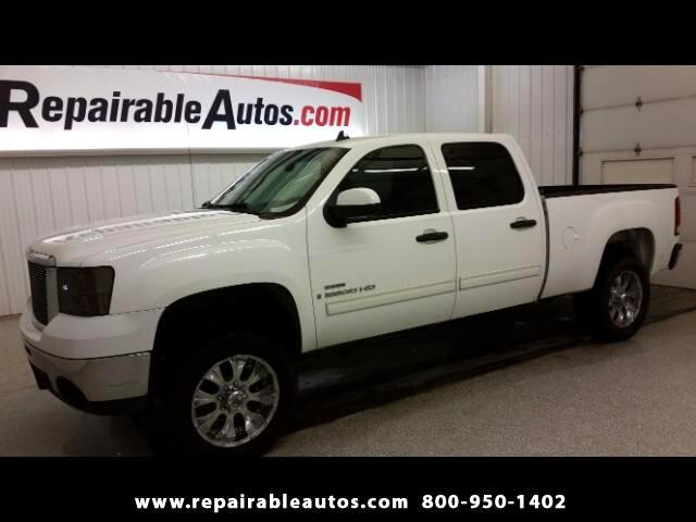 2007 GMC Sierra 2500HD SLE 2WD Repairable Water Damage