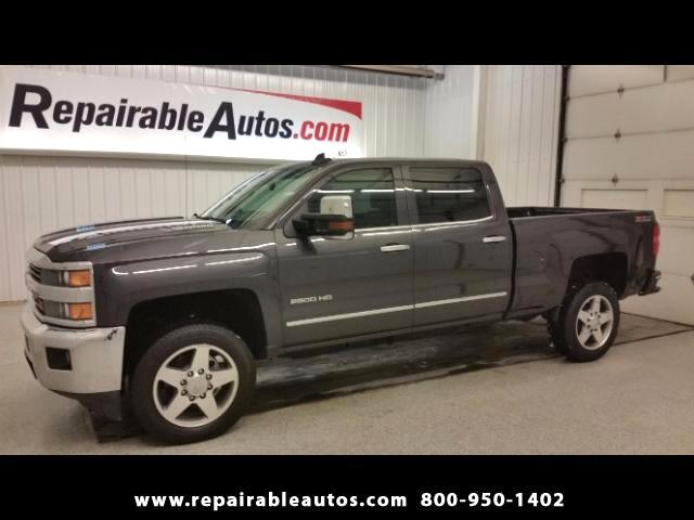 2016 Chevrolet Silverado 2500HD LTZ 4WD Repairable Water Damage