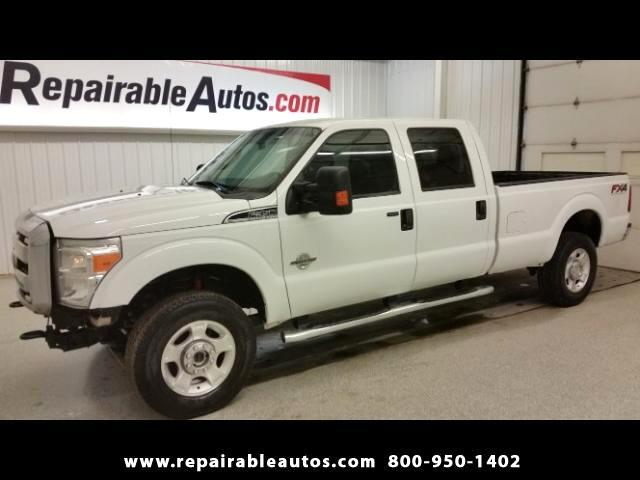 2013 Ford F-350 SD XLT 4WD Repairable Water Damage