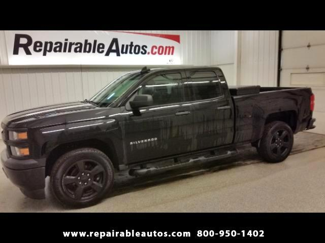 2015 Chevrolet Silverado 1500 2WD  Repairable Water-Texas NON REPAIRABLE TITLE