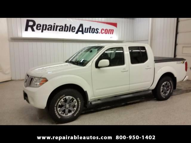 2014 Nissan Frontier Crew Cab 4WD Repaired Rear Collision