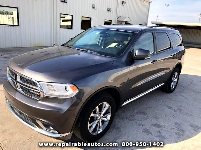 2014 Dodge Durango Limited 2WD Repairable Water-LOCATED IN TX
