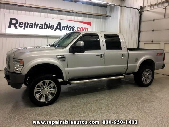 2008 Ford F-250 SD FX4 Crew Cab 4WD Repairable Water Damage