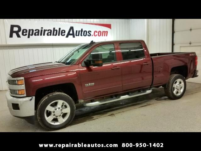 2016 Chevrolet Silverado 2500HD LT Crew Cab 4WD Repairable Water Damage