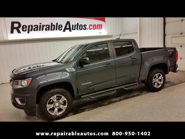 2017 Chevrolet Colorado Z71 Crew Cab 4WD Repairable Water Damage
