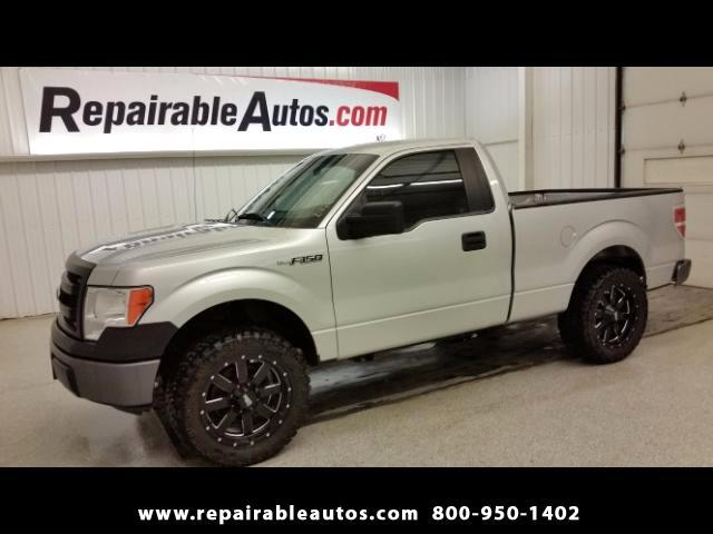 2014 Ford F-150 XL 2WD Repairable Water Damage