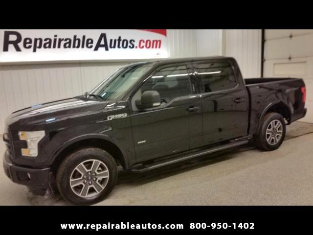 2016 Ford F-150 XLT 2WD Repairable Water Damage