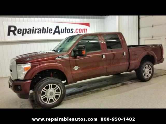 2016 Ford F-250 SD 4X4 Crew Cab Repairable Water Damage