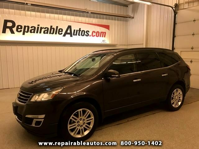 2015 Chevrolet Traverse LT FWD Repairable Water Damage & Motor Repairs