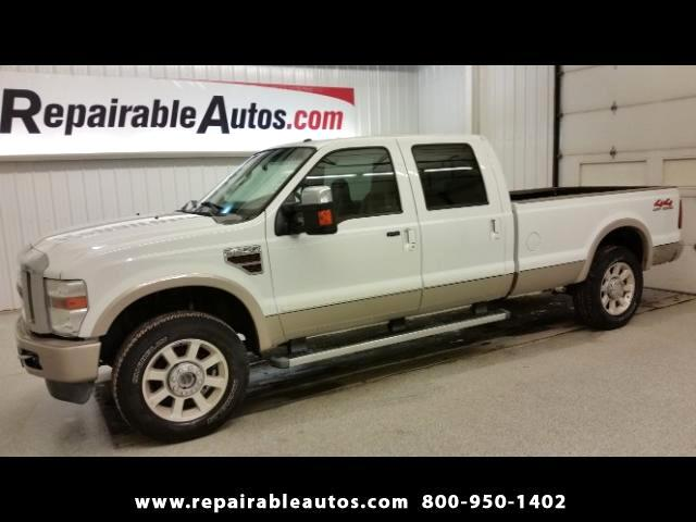 2009 Ford F-250 SD King Ranch 4X4 Repairable Water Damage