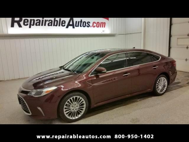 2016 Toyota Avalon Limited Repairable Water Damage