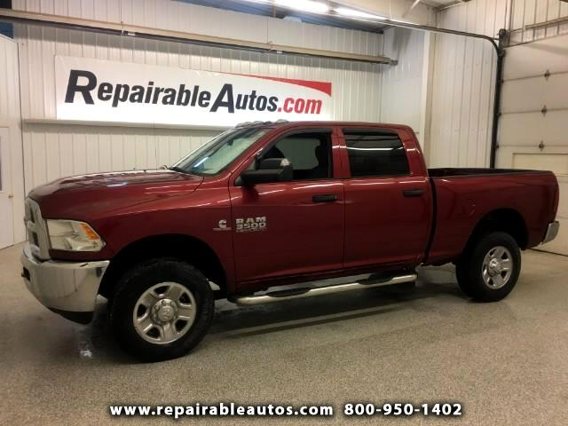 2015 RAM 3500 4x4 Crew Cab Repairable Water Damage