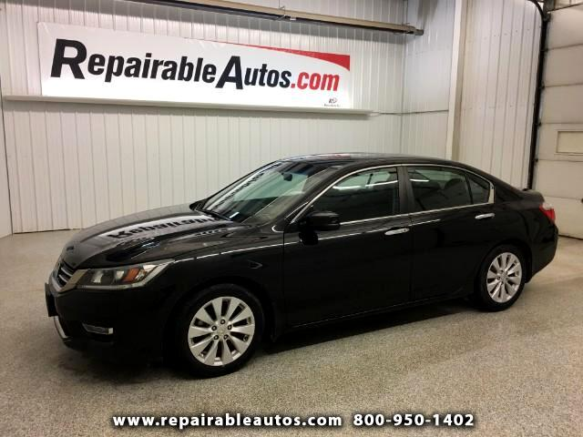 2013 Honda Accord Repairable Water Damage