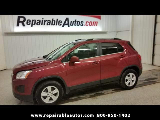2015 Chevrolet Trax LT AWD Repairable Water Damage