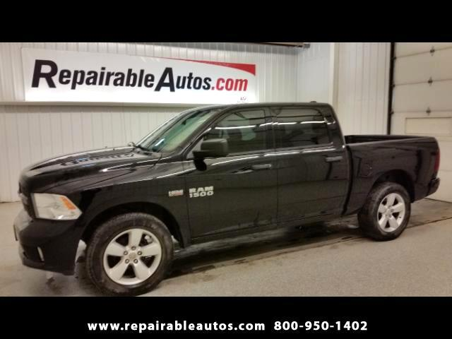 2014 RAM 1500 Crew Cab 4X4 Repairable Water Damage