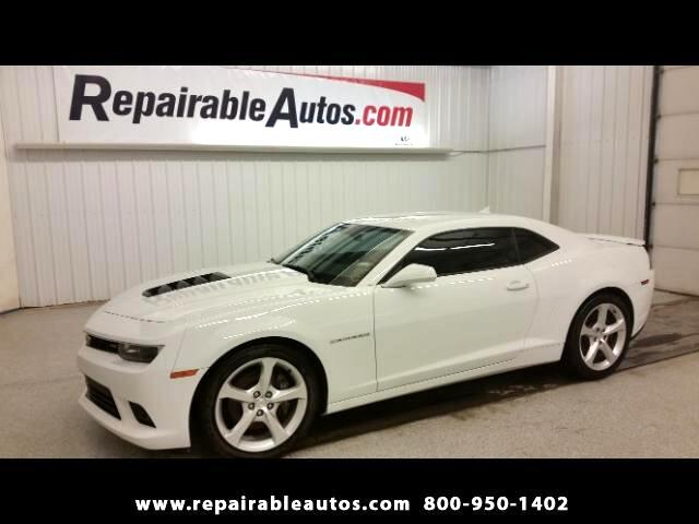 2015 Chevrolet Camaro SS 6Spd Repairable Water Damage