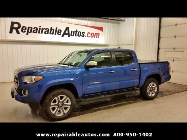 2017 Toyota Tacoma Limited 2WD Repairable Water Damage