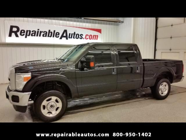 2015 Ford F-250 SD XLT 4x4 Repairable Water Damage