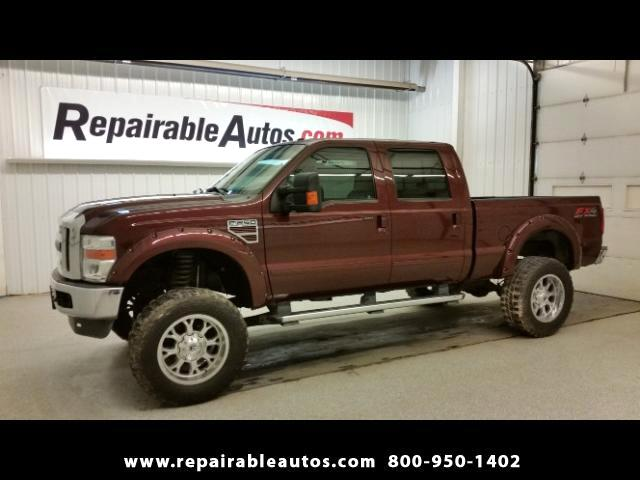 2010 Ford F-250 SD LARIAT 4x4 Repairable Water Damage