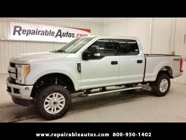 2017 Ford F-250 SD XLT 4x4 Repairable Water Damage