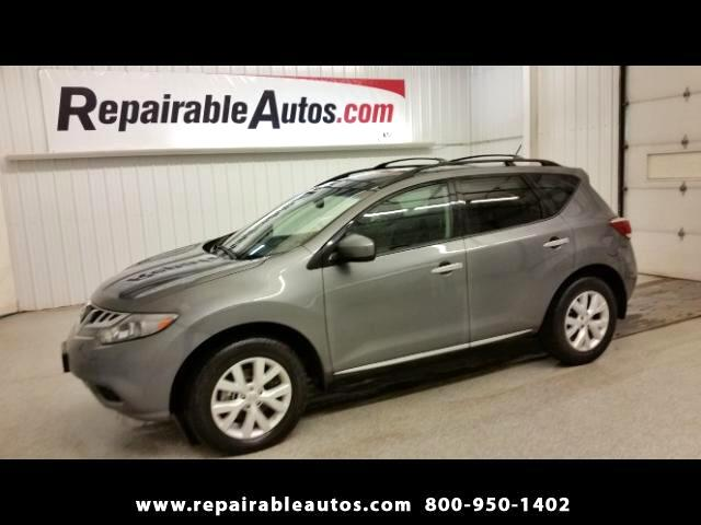 2014 Nissan Murano SL FWD Repairable Water Damage