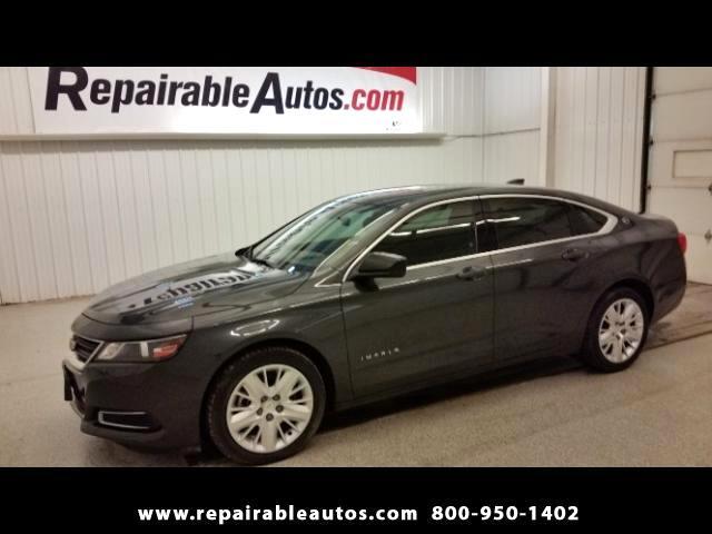 2015 Chevrolet Impala LS Repairable Water - NON REPAIRABLE TITLE