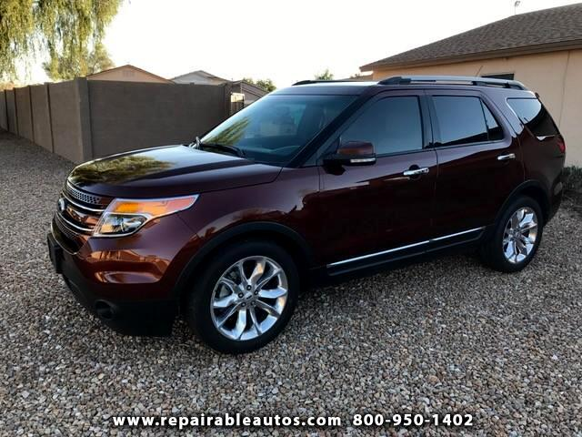 2015 Ford Explorer WATER DAM. FWD, TX NON REPAIR, LOCATED IN PHOENIX