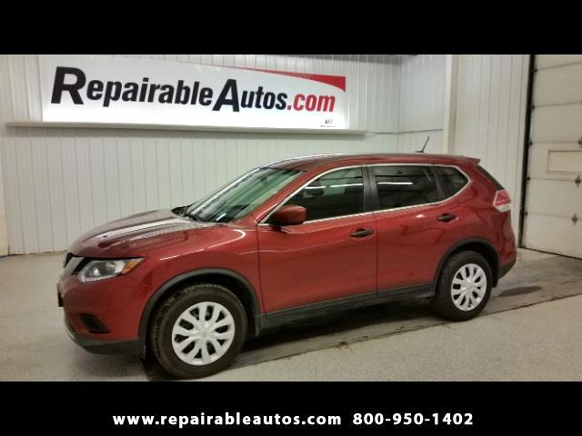 2016 Nissan Rogue AWD Repairable Water Damage