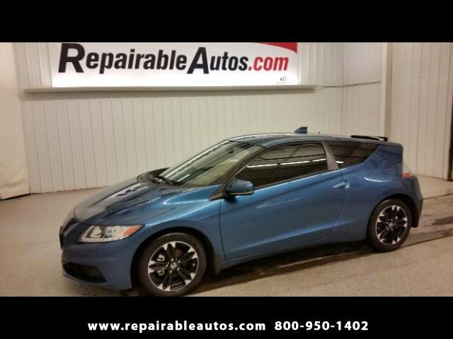 2015 Honda CR-Z Hybrid Repairable Water Damage