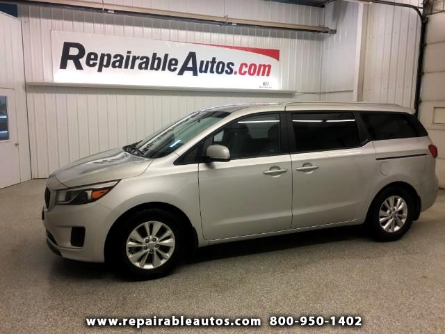 2016 Kia Sedona LX Repairable Water Damage