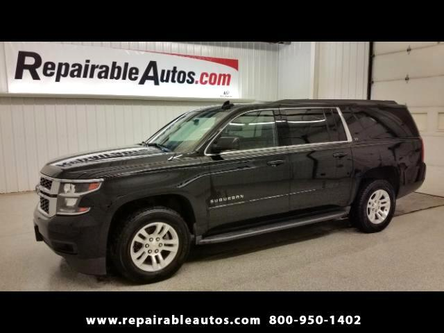 2015 Chevrolet Suburban LS 2WD Repairable Water Damage