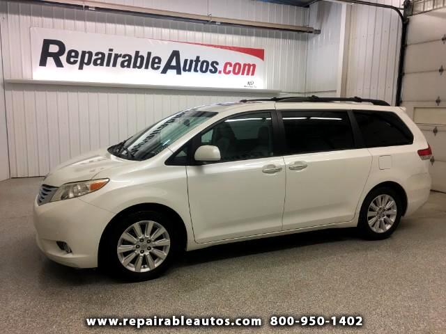 2012 Toyota Sienna Limited AWD Repairable Water Damage