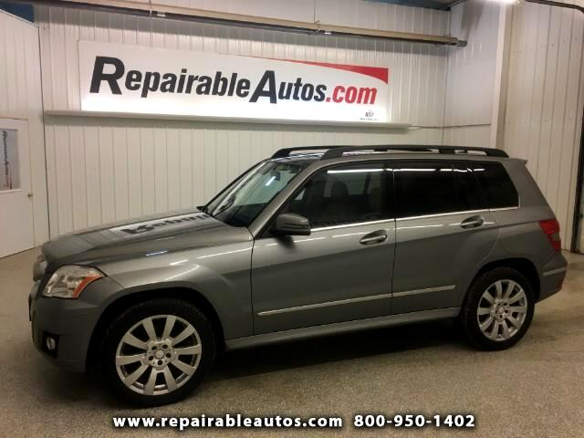 2011 Mercedes-Benz GLK-Class AWD Repairable Water Damage