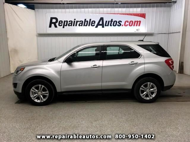 2017 Chevrolet Equinox LS FWD Repairable Water Damage