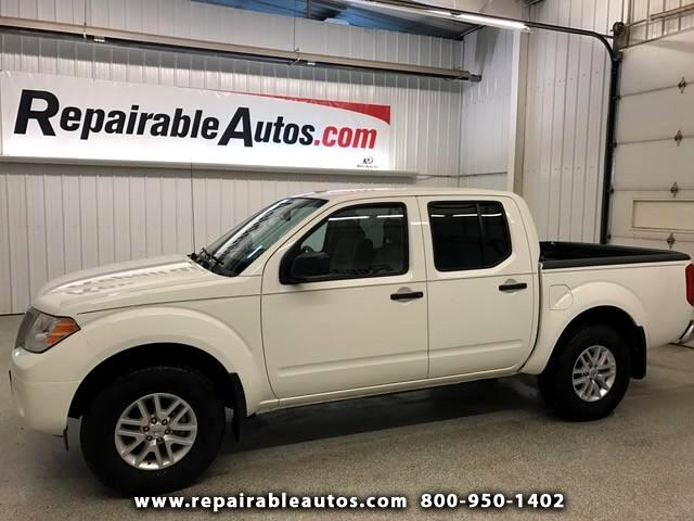 2017 Nissan Frontier SV 4x4 Repairable Water Damage
