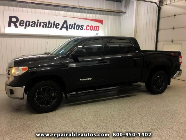 2016 Toyota Tundra SR5 2WD Repairable Water Damage
