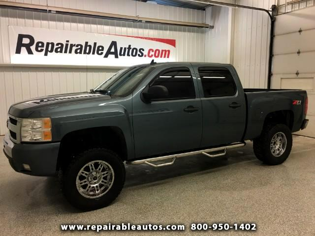 2010 Chevrolet Silverado 1500 Z71 4x4 Repairable Water Damage