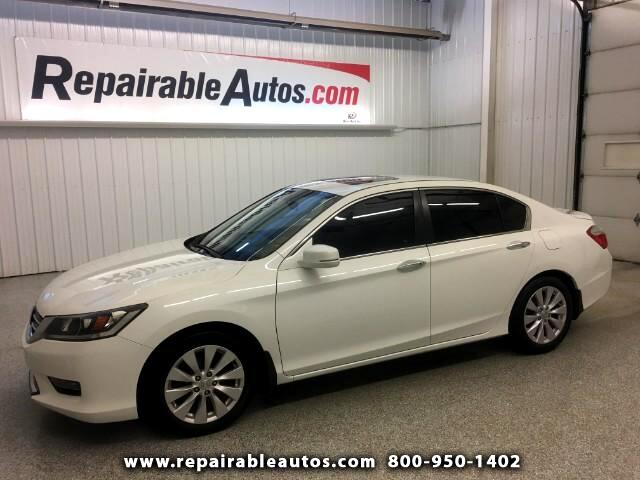 2014 Honda Accord Sdn Repairable Water Damage - NON REPAIRABLE TITLE