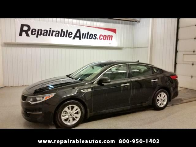 2016 Kia Optima Repairable Water Damage