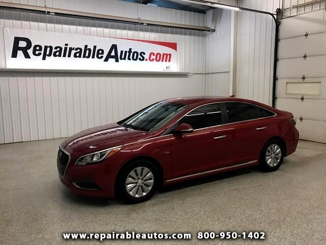 2016 Hyundai Sonata Hybrid SE Repairable Water Damage