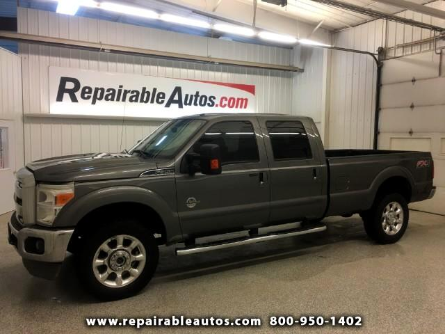 2011 Ford F-350 SD Lariat Crew Cab 4X4 Repairable Water Damage