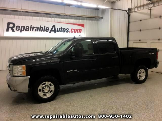 2010 Chevrolet Silverado 2500HD Crew Cab 4X4 Repairable Water Damage