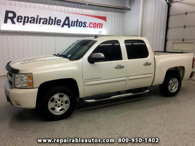 2011 Chevrolet Silverado 1500 LT Crew Cab 4WD Repairable Water Damage