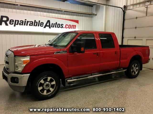 2011 Ford F-250 SD 4x4 Repairable Water Damage