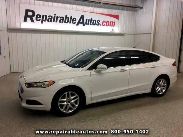 2016 Ford Fusion SE Repairable Water Damage
